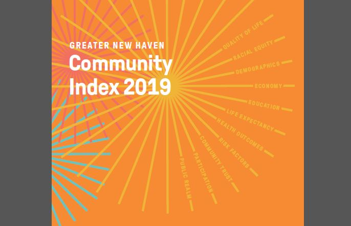 2019 Greater New Haven Index DataHaven Connecticut Data study Cover portrait