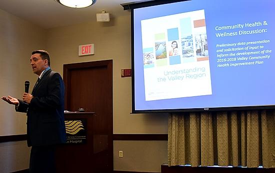 Ken Roberts Valley Health Data Forum Connecticut