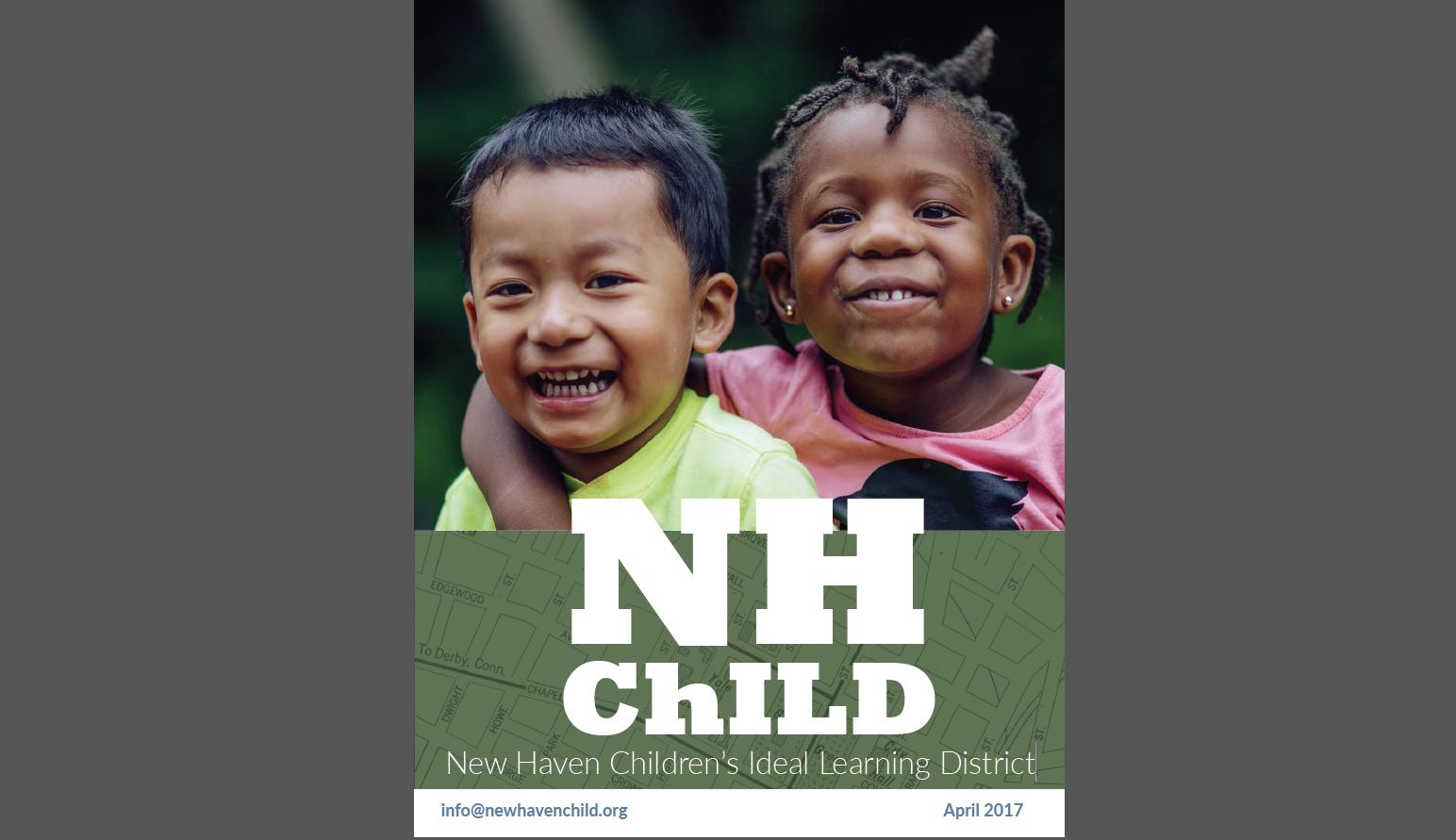 New Haven child report cover 2017