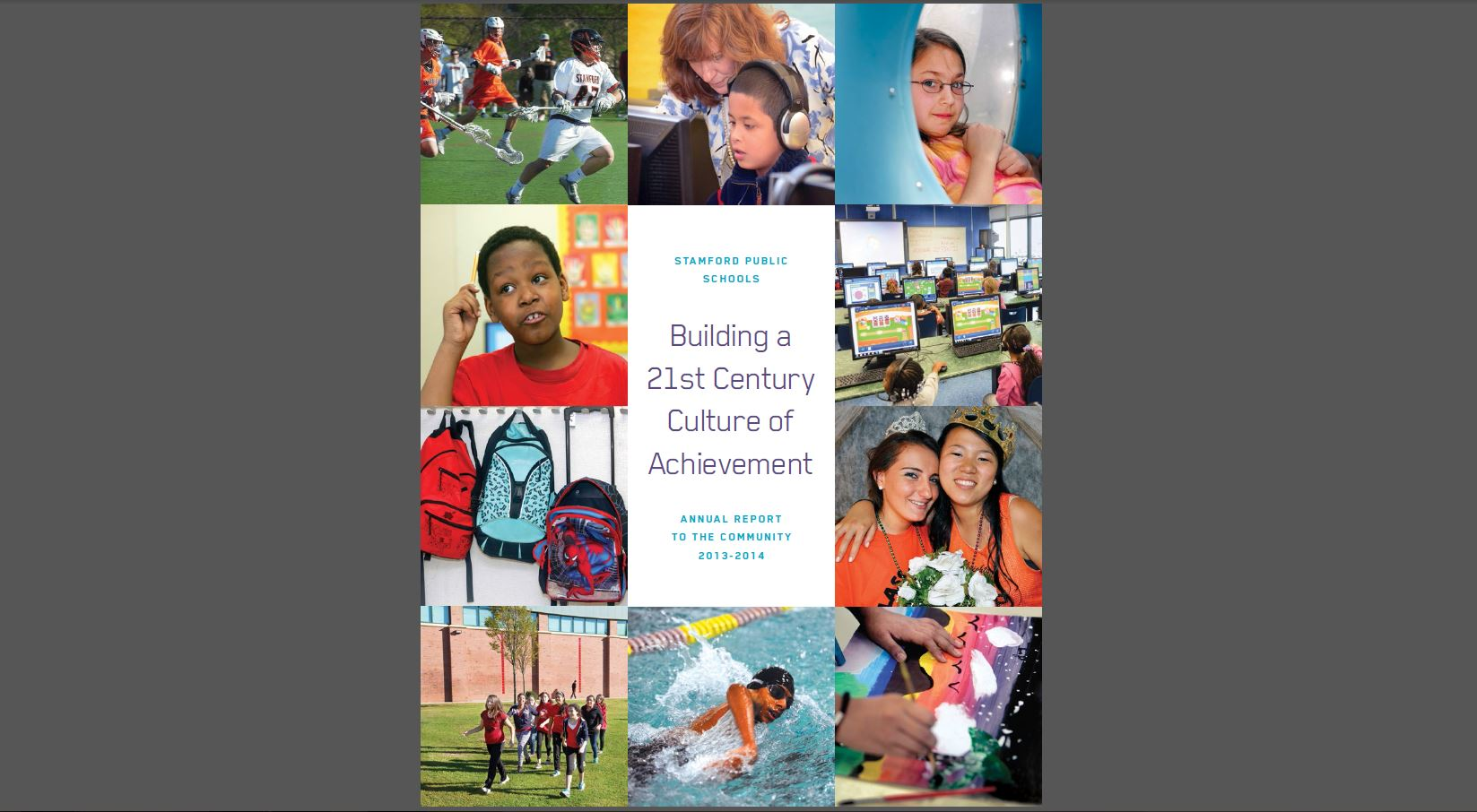 Stamford Public Schools Annual Report 2014