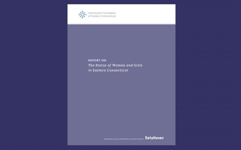 Connecticut data on women DataHaven CFECT