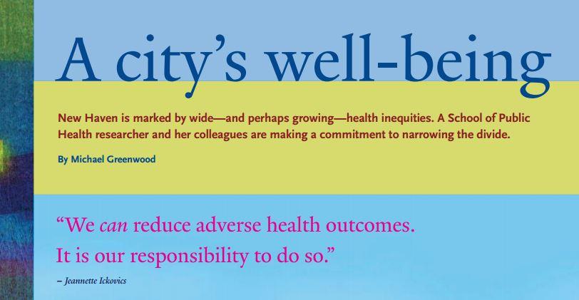 CARE Yale School of Public Health Magazine